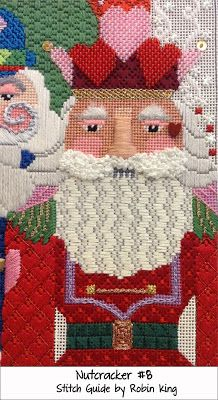 ❤ =^..^= ❤   Needlepoint Study Hall: Jolly Nutcrackers by dede Ogden and Robin King