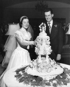 My grandparents' wedding, 1950, Detroit MI - Imgur