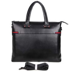 'President' 14-inch Black Business Briefcase (Ships From Amazon)