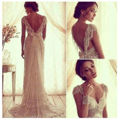 Full view of the most amazingly beautiful wedding dress I have ever seen!