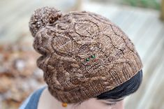 Ravelry: Owl in the Thicket Hat pattern by Sara Huntington Burch Knitting Patterns, Crochet Patterns, Owl Patterns, Knit Picks, Knitting Accessories, Hand Dyed Yarn, Bandeau, Knit Crochet, Crochet Hats