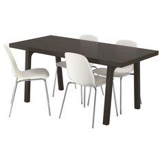 IKEA VÄSTANBY/VÄSTANÅ/LEIFARNE table and 4 chairs