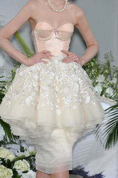 Christian Dior Couture Details Fall 2009 - Indulge in a Decade of Dior Couture Runway Details - Photos