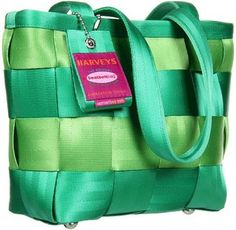 Harveys Seatbelt Bag - Small Tote Mint Julip