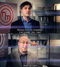 I love everything about Historical Masterchef!