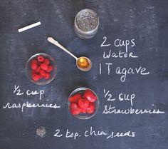 Juice Recipe From Love Grace: Berry Chia Fresca
