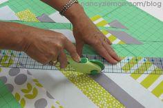 How+To+Sew+a+Scrap+Buster+Stripe+Quilt+Binding+|+Nancy+Zieman
