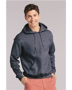 Spicy Cold Apparel Hey Yes Gildan 18500 Mens Heavy Blend Fleece Classic Fit Hooded Sweatshirt