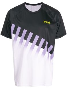 Fila Garson Graphic Print T-shirt - Farfetch Louis Vuitton T Shirt, Cool T Shirts, Tee Shirts, Dapper Men, Men Style Tips, Graphic Prints, Shirt Style, Short Sleeves, Menswear