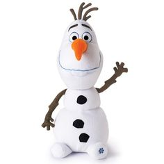 """$14.99 AVON EXCLUSIVE! There is snow much love to give this season! This wacky character from the popular Disney movie Frozen cuddles and snuggles and even glows! 26"""" tall. Uses 3 AAA batteries (not included). Ages 3 and up. Polyester. Imported. Limited quantities available.  While Supplies Last"""
