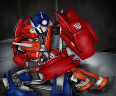 Optimus and Causeway.......ie) elita one in a different form!