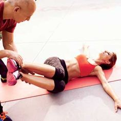 Maria's Bikini-Tummy Workout http://www.womenshealthmag.com/fitness/maria-menounos-workout