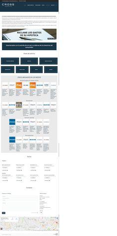 Restyling de la página web de Cross Abogados | Grupo Zeumat #zeumat #grupozeumat #zesis #publicidad #rediseño #diseño #diseñoweb #restyling #web #publicidad #marketing