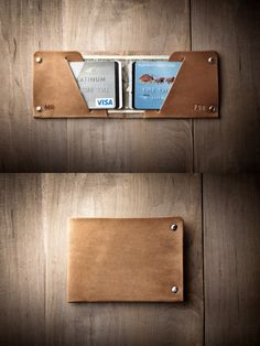 Thin Leather Wallet | by Mr Lentz
