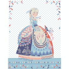 Hawthorne Threads - Calliope - Calliope Quilt Panel in Indigo