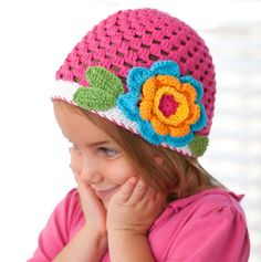 Cute Crochet Hat.  I love this one. :)