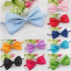 3pcs Fashion Cute Dog Puppy Cat Kitten Pet Christmas Bow Tie Necktie Clothes decoration free shipping #Affiliate
