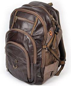 Brown Vintage Haiku Leather Backpack