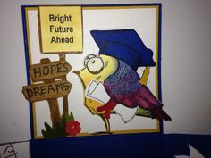 Crazy Bird Graduation