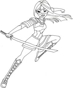 Image result for batgirl super hero girls coloring pages My