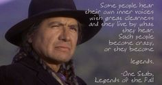 legends of the fall quotes - Google Search