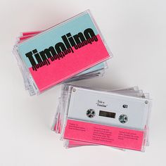 Superb graphic design for Factory Records-inspired tape and vinyl label.