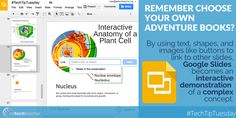 #TechTipTuesday: Learn creative ways to use Google Slides from Greg Kulowiec #gafe #slides #stem #engchat