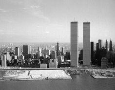 archimaps:  The World Trade Center in 1975, New York City