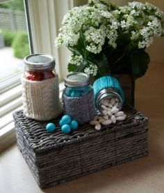 LW3671 Cabled Jar Cozies