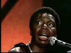 """Feelings""  ""I do not believe the conditions that produce a situation that demands a song like that."" by Nina Simone"