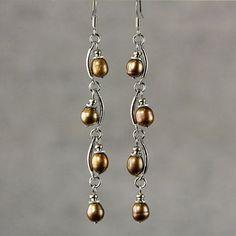 Diy Schmuck, Schmuck Design, Wire Wrapped Jewelry, Wire Jewelry, Diy Jewellery, Jewellery Shops, Jewlery, Jewelry Stores, Homemade Jewellery