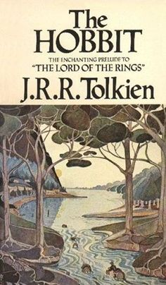 Tolkien, J. R. R. The Hobbit / Tolkien J. R. R. – New York : Ballantine Books of Canada, 1977. #Tolkien #Hobbit