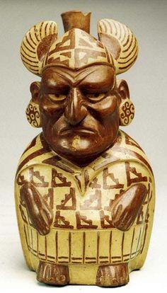 Moche culture, Peru Ancient Peruvian, Peruvian Art, Ancient Aliens, Ancient History, Art History, Ancient Artifacts, Ancient Mysteries, Colombian Culture, Inca Empire