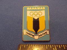 2016 Rio Olympic NOC Pin Bahamas #2