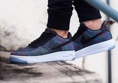 separation shoes 574f5 fca30 Nike Air Force 1 Ultra Flyknit Low Multicolor Blue Lagoon