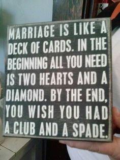 haha oh marriage