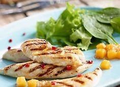 Polędwiczki z piersi z kurczaka #lidl #przepis #grill #kurczak