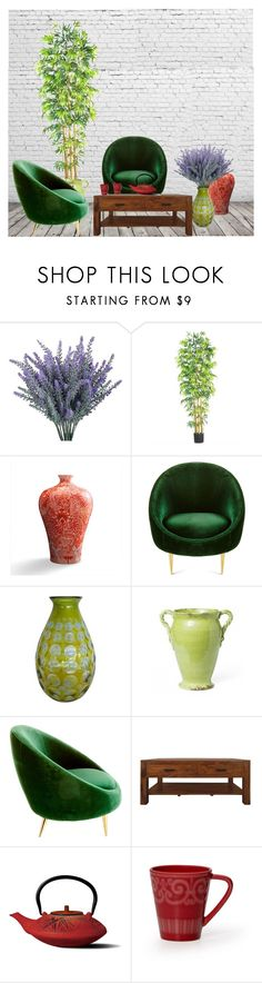 """Split Complementar //Yellow Green // Red //Violet"" by consuelor on Polyvore featuring interior, interiors, interior design, Casa, home decor, interior decorating, Nearly Natural, Frontgate, Jonathan Adler e Oggetti"
