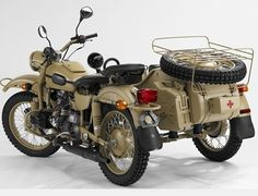 Ural motorcycle with sidecar