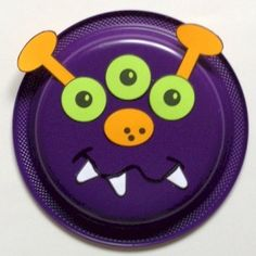Paper Plate Monster Craft