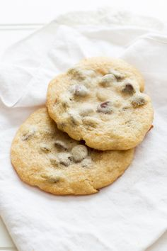 Soft, chewy, sweet, and chocolatey, these cookies use a secret ingredient to help make them the best ever chocolate chip cookies!