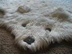 Faux Fur Bear Rugs With Head