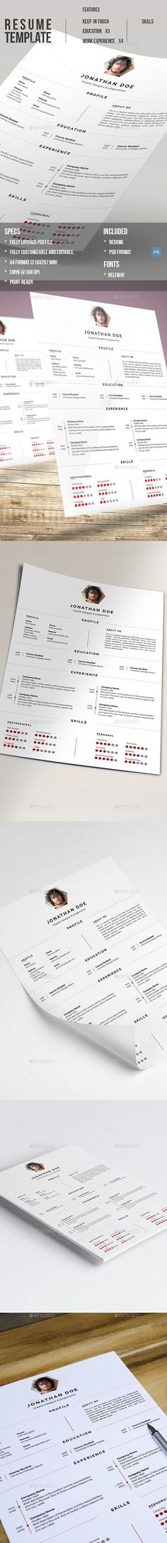 Love these resumes, totally eye-catching Resume layouts - professional resume fonts