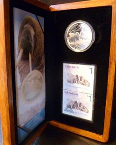 MaxSold - Auction: Kingston (Ontario, Canada) Collins Bay Flea Market- Antiques & Collectibles, SELLER MANAGED Online Auction ITEM: 2006 Walrus Silver Coin & Stamps 1 oz
