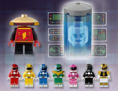 This Mighty Morphin Power Rangers Lego Set Can Be Real With Your Help