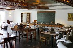 Dining/breakfast room at Hotel da Estrela, Lisbon, Portugal