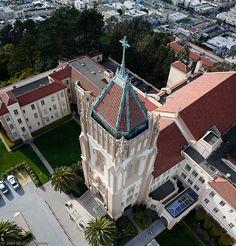 University of San Francisco, Lone Mountain Campus San Francisco Girls, Living In San Francisco, San Francisco Travel, San Francisco California, California Dreamin', Northern California, Bay Area, University Of San Francisco, Usa University