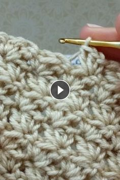 Please write girls, which patterns do you like more large (voluminous) or vice versa more sophisticated? for knitting crochet # knitting # kn Knitting Videos, Knitting Yarn, Knitting Projects, Knitting Patterns, Crochet Patterns, Single Crochet Stitch, Double Crochet, Irish Crochet, Knit Crochet