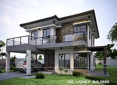 modern house design luxury Design Exterior philippines 2 storey modern ho… – Famous Last Words Home Design, Zen House Design, Bungalow Haus Design, Design Living Room, Modern Design, Design Design, 3 Storey House Design, Urban Design, Design Ideas