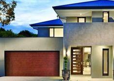 DecoVogue® Garage Door - Slimeline Profile, Copper colour